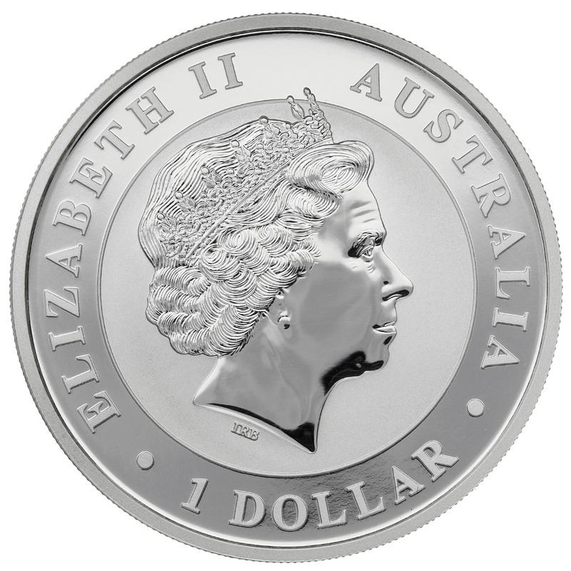 2012 1oz Silver Australian Koala