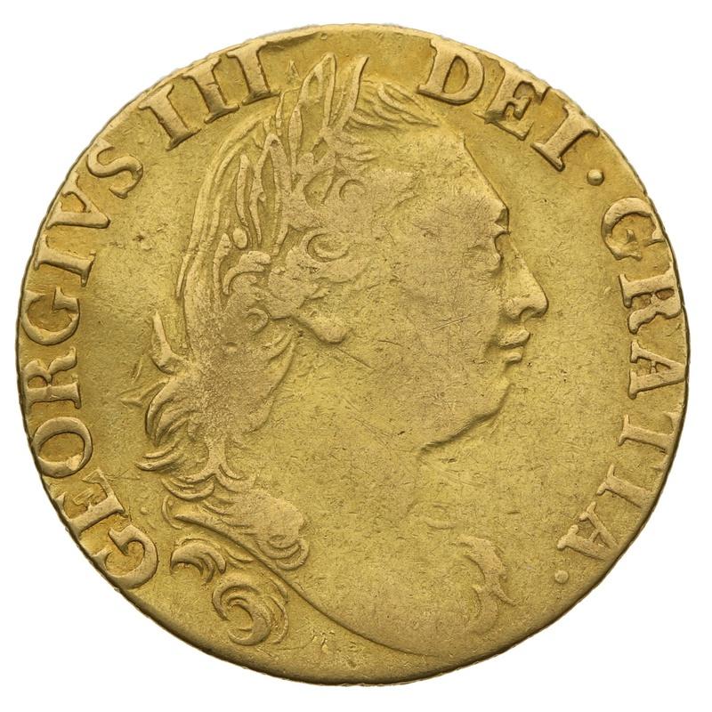 1782 Guinea Gold Coin