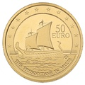 2011 Maltese Gold Proof 50 Euro coin - Phoenecians