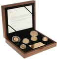 The 2014 United Kingdom Gold Proof Coin Set Boxed