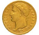 1812 20 French Francs - Napoleon (I) Laureate Head - A