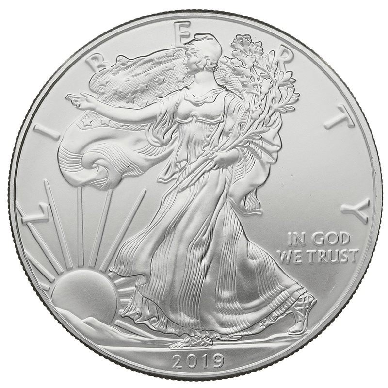2019 1oz American Eagle Silver Coin