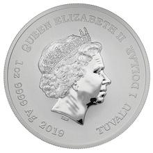 2019 Captain America 1oz Silver Coin Gift Boxed