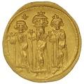 Heraclius Gold Solidus Constantinople