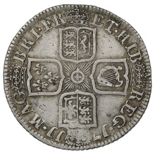 1711 Queen Anne Silver Shilling