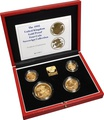 1995 Gold Proof Sovereign Four Coin Set Boxed