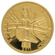 2011 One Ounce Proof Britannia Gold Coin