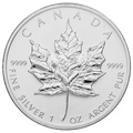 2005 1oz Canadian Maple Silver Coin