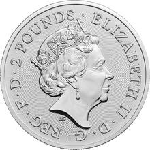 2019 Royal Arms 1oz Silver Coin