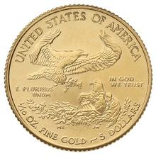 2015 Tenth Ounce Eagle Gold Coin