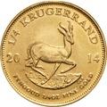 2014 Quarter Ounce Gold Krugerrand