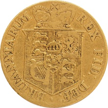 1817 George III Gold Half Sovereign