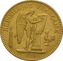 1848 20 French Francs - Guardian Angel
