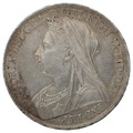 1900 Queen Victoria Silver Crown LXIII