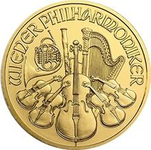 2014 Quarter Ounce Gold Austrian Philharmonic