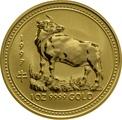 1997 1oz Gold Australian Lunar Year of the Ox