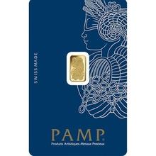 PAMP 1 Gram Gold Bar Minted
