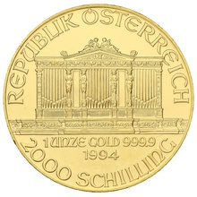 1994 1oz Austrian Gold Philharmonic Coin