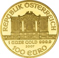 2007 1oz Austrian Gold Philharmonic Coin
