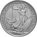 2004 1oz Silver Britannia Coin