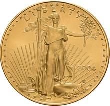 2004 1oz American Eagle Gold Coin