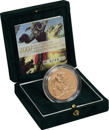 2007 - Gold £5 Brilliant Uncirculated Coin Boxed