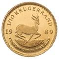 1989 Tenth Ounce Krugerrand