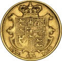1836 Gold Sovereign - William IV