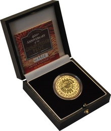 2005 £2 Two Pound Proof Gold Coin: Gunpowder Plot Boxed