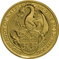 1oz Gold Coin, Red Dragon - Queen's Beast