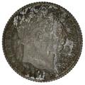 1816 George III Silver Sixpence
