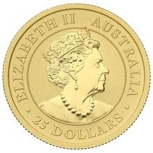 2020 Quarter Ounce Gold Australian Nugget
