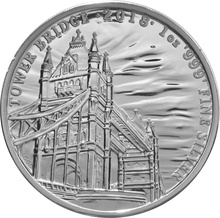 2018 Silver Tower Bridge 1oz - Landmarks of Britain
