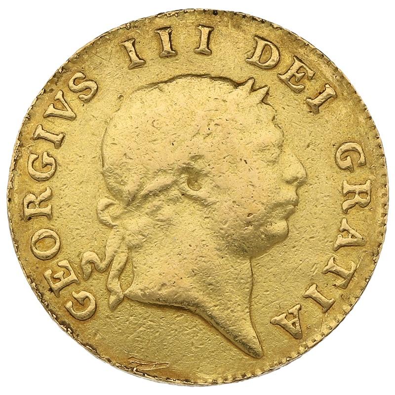 1804 George III Gold Half Guinea