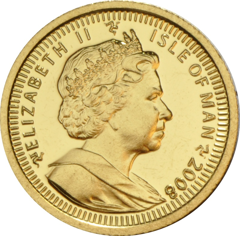 Twentieth Ounce Angel Gold Coin