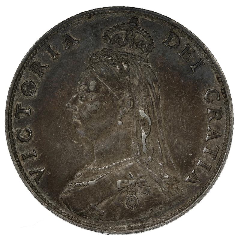 1887 Queen Victoria Silver Florin