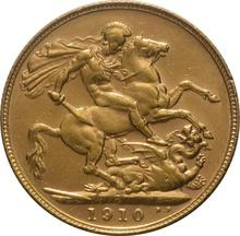 1910 Gold Sovereign - King Edward VII - P