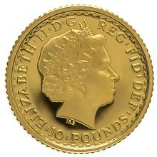 2003 Tenth Ounce Proof Britannia Gold Coin