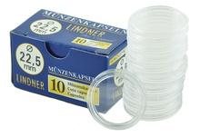 Lindner 22.5mm Sovereign Capsules (10 Box)