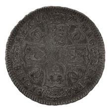 1673 Charles II Halfcrown