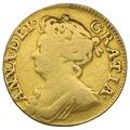 1713 Queen Anne Gold Guinea