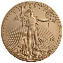 2014 1oz American Eagle Gold Coin