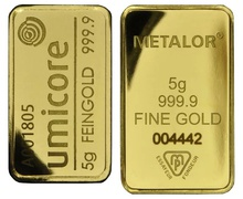 5g Gold Bars (Pre Owned)