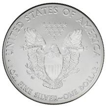 2012 1oz American Eagle Silver Coin