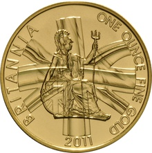 2011 Gold Britannia One Ounce Coin