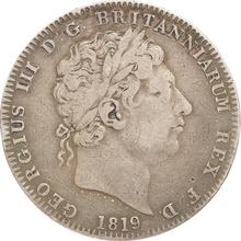 1819 George III Silver Crown - Fine