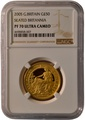 2005 Half Ounce Proof Britannia Gold Coin NGC PF70