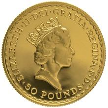 1990 Half Ounce Proof Britannia Gold Coin