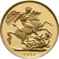 2015 Gold Sovereign - Elizabeth II Fourth Head Proof
