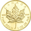 2008 1oz Canadian Maple Gold Coin